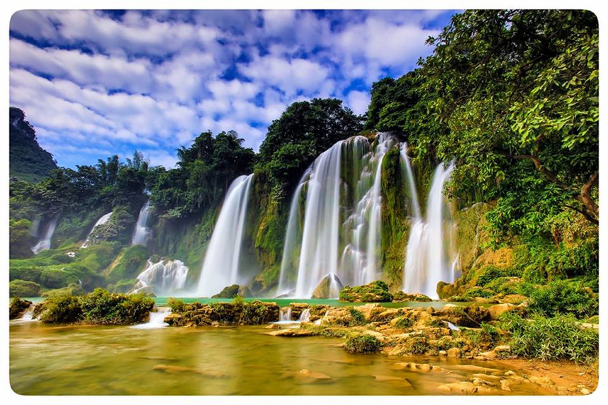 thac ban gioc -Vietnam tours